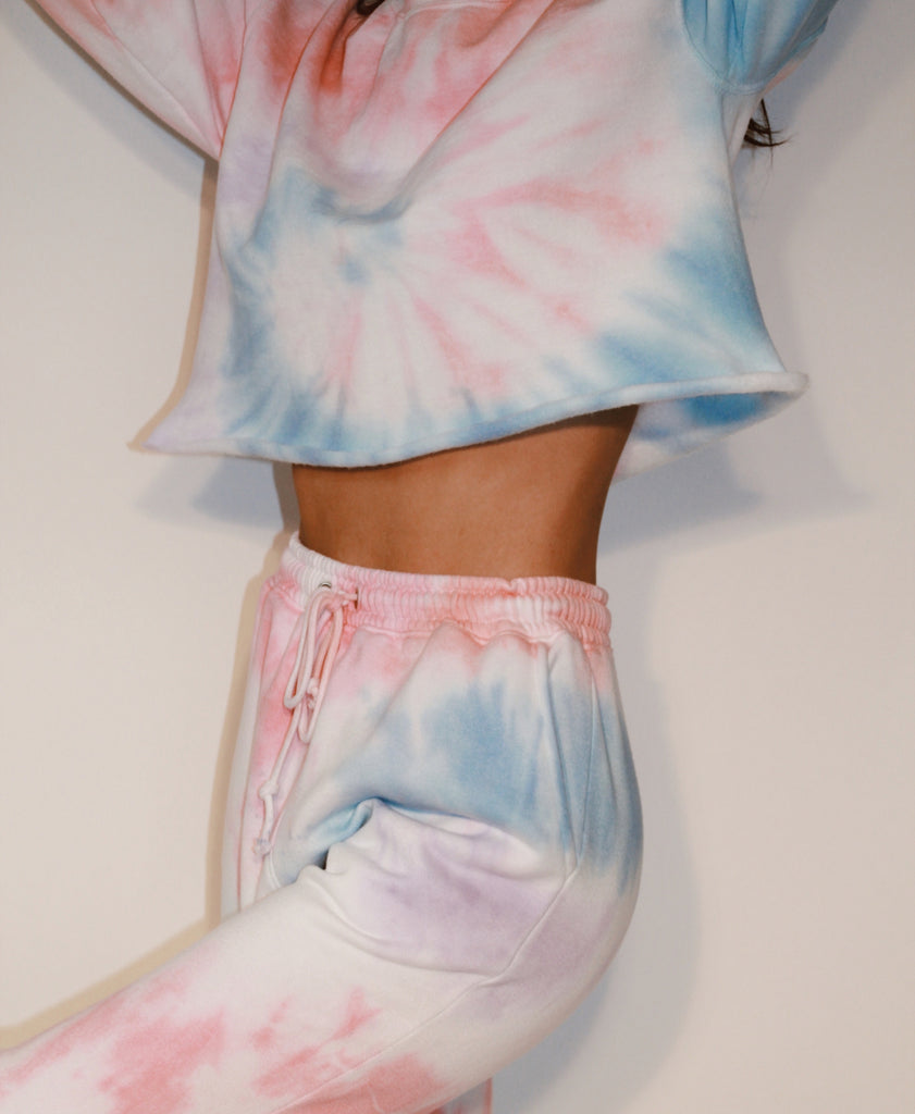 Cotton Candy Cropped Set