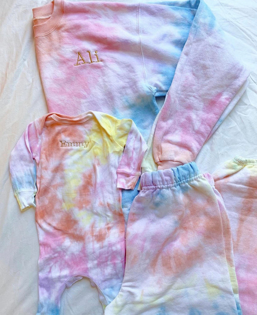 Embroidered Hoodie Set