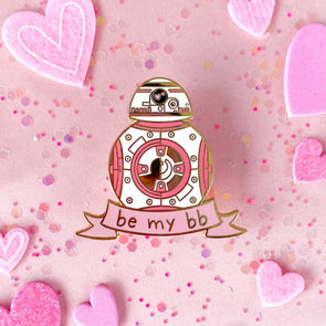 Be My BB - Robot Enamel Pin