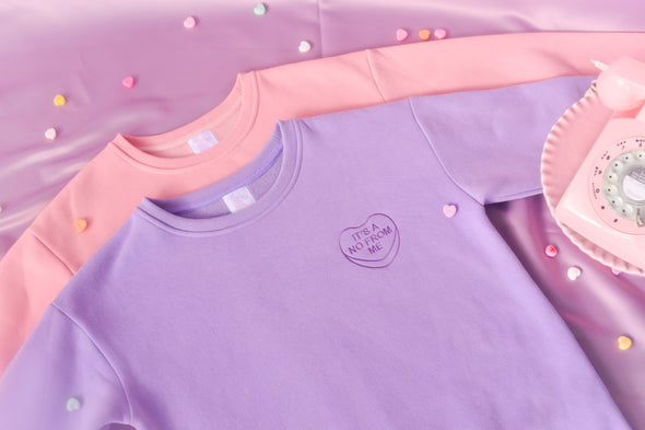 Purple Bitterhearts Sweatshirt
