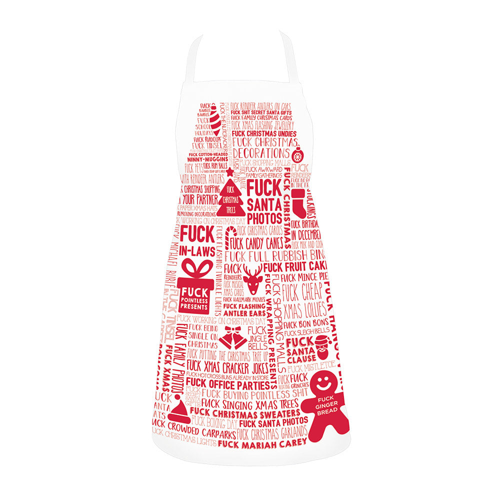 F*#K Christmas Apron - Gifti | Gifts they will love