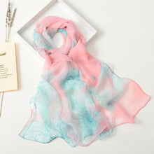 Load image into Gallery viewer, Lotus Soft Wrap Scarf - Pink & Teal - Gifti | Gifts they will love