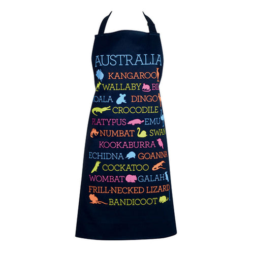 Australian Animals Apron - Australia Day - Gifti | Gifts they will love