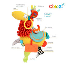 Load image into Gallery viewer, Activity Lama Plush Toy - Dolce - Gifti | Gifts they will love