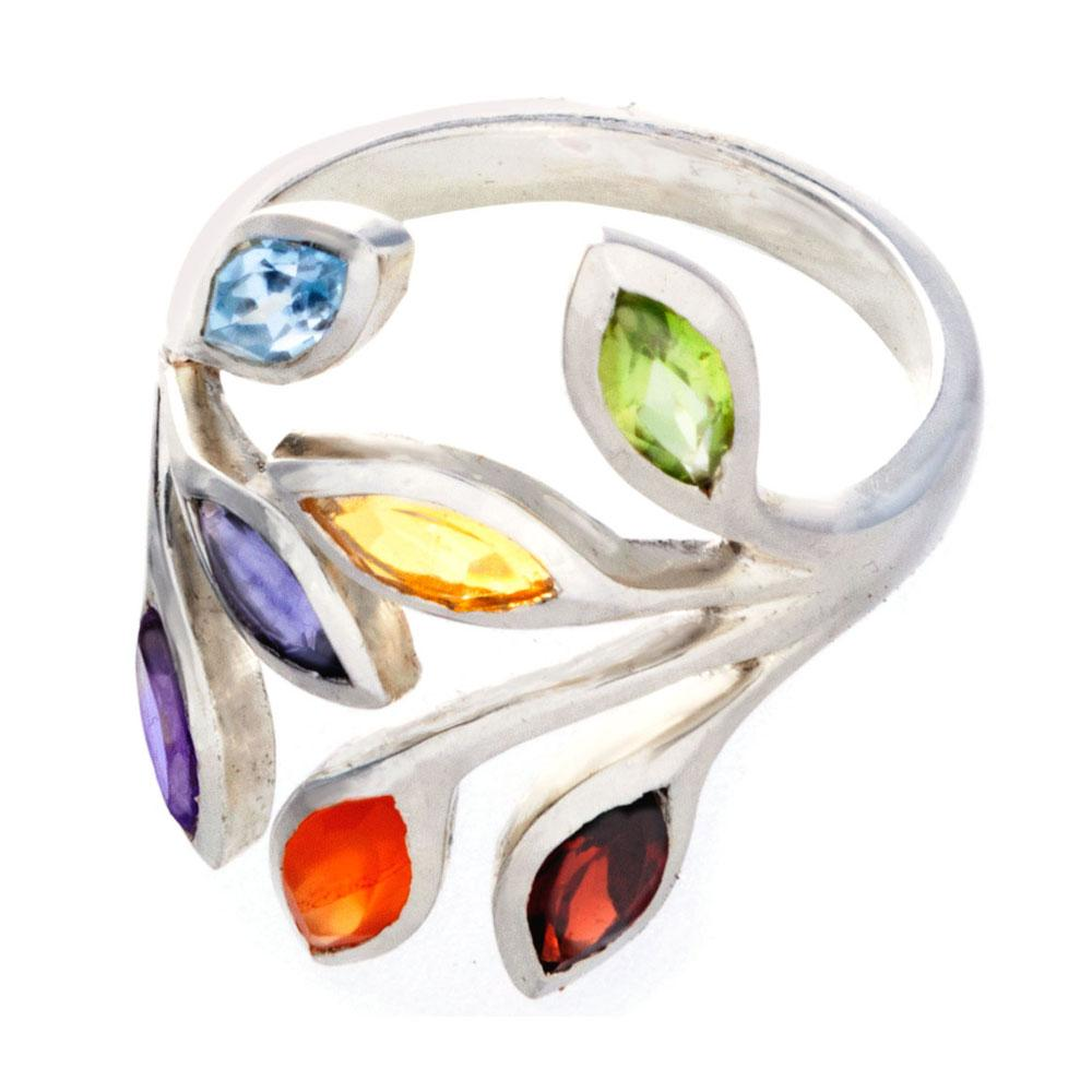 Chakra Ring with 7 Gemstones - Gifti | Gifts they will love