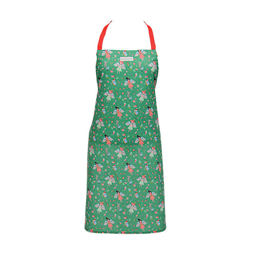 Christmas Angel Green Apron - Gifti | Gifts they will love