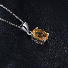 Load image into Gallery viewer, Citrine Oval Cut Pendant & Necklace - Gift Ideas for Her - Gifti | Gifts they will love