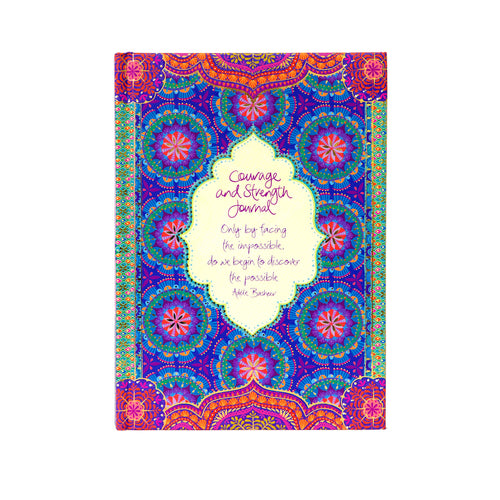 Courage & Strength Guided Journal - Gifti | Gifts they will love