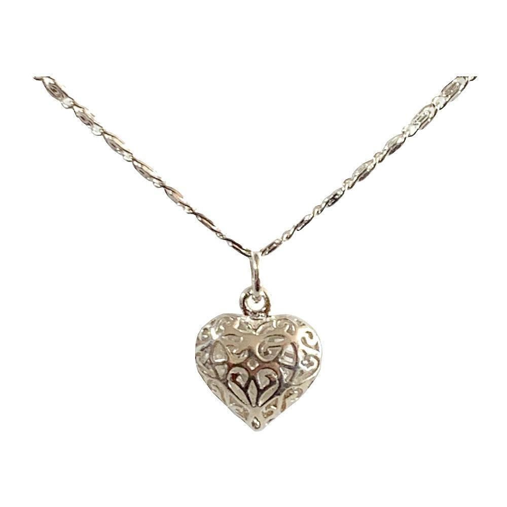 Delicate Heart Pendant and Necklace - 925 Silver - Gifti | Gifts they will love