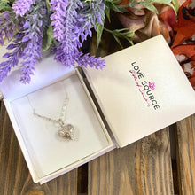 Load image into Gallery viewer, Delicate Heart Pendant and Necklace - 925 Silver - Gifti | Gifts they will love