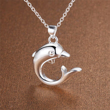 Load image into Gallery viewer, Dolphin Pendant & Necklace - Gifti | Gifts they will love