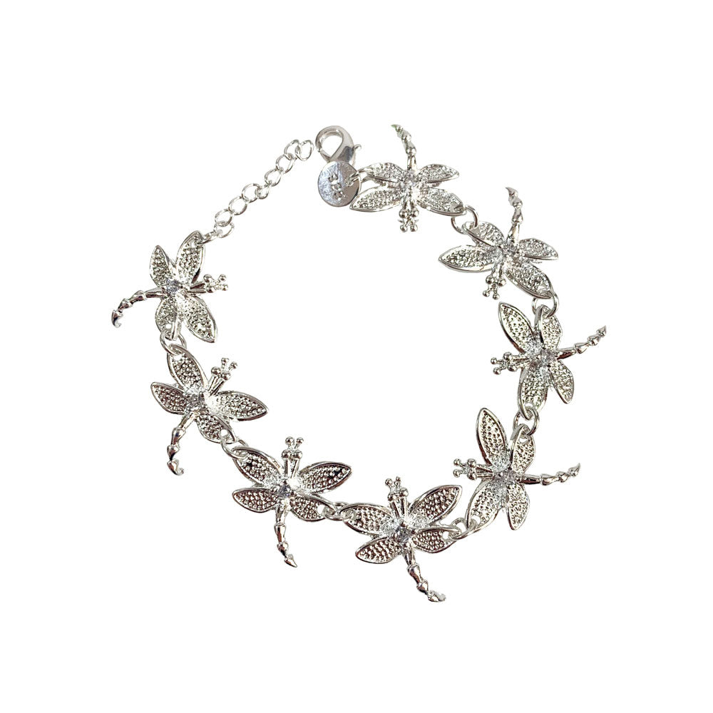 Dragonfly Bracelet - Silver - Gifti | Gifts they will love