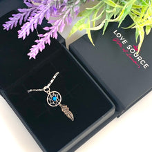 Load image into Gallery viewer, Dream Catcher with Bead Pendant & Necklace - 925 Silver - Gifti | Gifts they will love