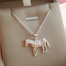 Load image into Gallery viewer, Dressage Horse Pendant & Necklace - 925 Silver - Gifti | Gifts they will love