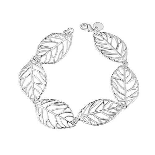 Exquisite Leaf Bracelet - 925 Silver - Gifti | Gifts they will love