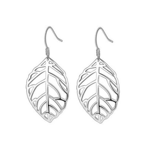 Exquisite Leaf Earrings - 925 Silver - Gifti | Gifts they will love