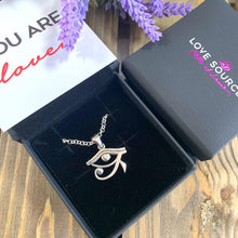 Load image into Gallery viewer, Eye of Horus Pendant & Necklace - 925 Silver - Gifti | Gifts they will love