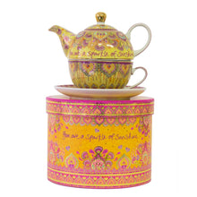 Load image into Gallery viewer, Happiness Tea for One - Tea Pot, Cup & Saucer - Gifti | Gifts they will love