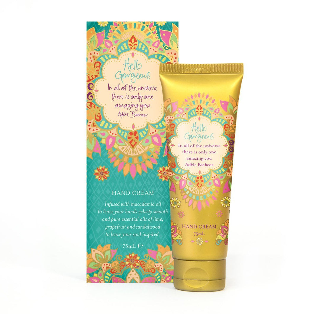 Hello Gorgeous Hand Cream - Gifti | Gifts they will love