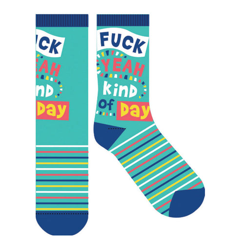 F*#K Yeah Kind of Day Socks - Gifti | Gifts they will love