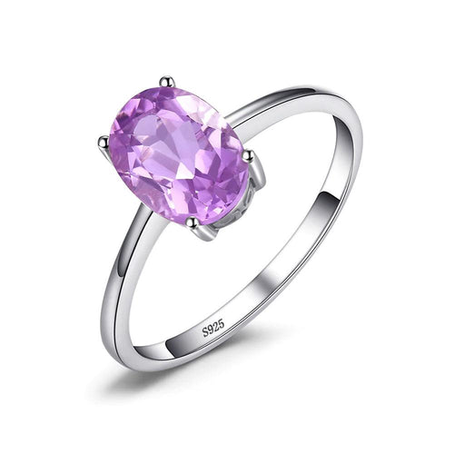 Amethyst Oval Cut Ring - Gifti | Gifts they will love