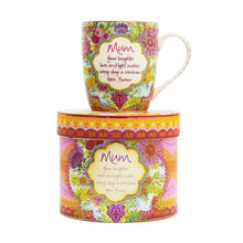 Load image into Gallery viewer, Mum Blooms Mug - Gifti | Gifts they will love