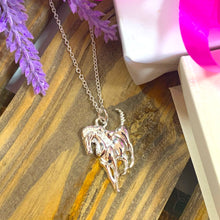 Load image into Gallery viewer, Prancing Horse Pendant & Necklace - Silver - Gifti | Gifts they will love