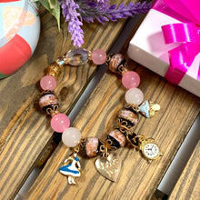 Load image into Gallery viewer, Love Alice in Wonderland Charm Bracelet - Great Gift Idea for Young Girls - Gifti | Gifts they will love