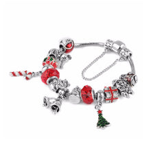 Load image into Gallery viewer, Love Christmas Jingle Bells Charm Bracelet - 13 Charms - Gifti | Gifts they will love