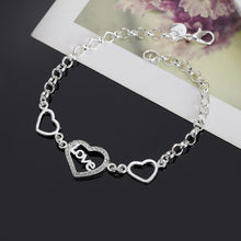 Load image into Gallery viewer, Love and Heart Bracelet - 925 Silver - Gifti | Gifts they will love