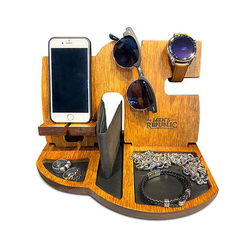 Men's Organiser, Docking Station & Night Stand - Ideal Men's Gift - Gifti | Gifts they will love