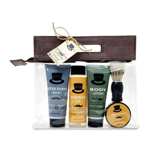 Men's Bath & Shave Gift Set - Ideal Men's Gift - Gifti | Gifts they will love