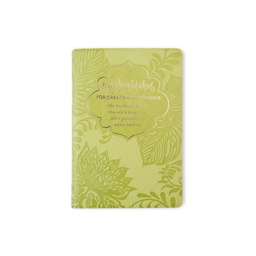 My Bright Ideas - For Creating Abundance Journal - Gifti | Gifts they will love