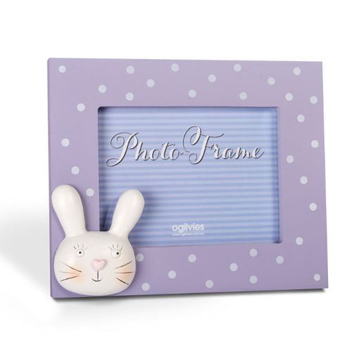 Bunny & Friends - Photo Frame - Purple - Gifti | Gifts they will love