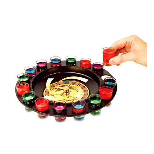 Roulette Party Shots Drinking Game - Gifti | Gifts they will love