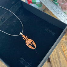 Load image into Gallery viewer, Spartan Helmet and Cord Necklace - Sharpman - Gifti | Gifts they will love