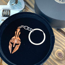 Load image into Gallery viewer, Spartan Helmet Key Ring - Sharpman - Gifti | Gifts they will love