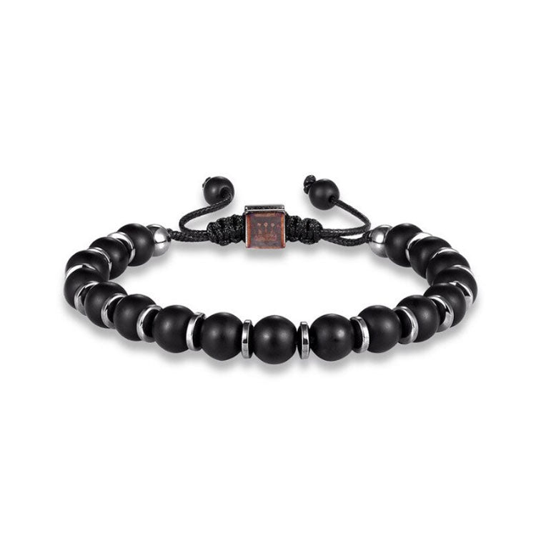 Sharpman Hematite Bracelet - Gift Ideas for Men - Gifti | Gifts they will love