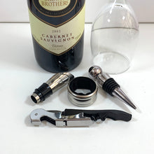 Load image into Gallery viewer, Sharpman Wine Opener & Decanter Gift Set - Gifti | Gifts they will love