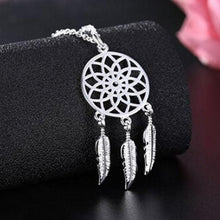 Load image into Gallery viewer, Dream Catcher Pendant & Necklace - Silver - Gifti | Gifts they will love