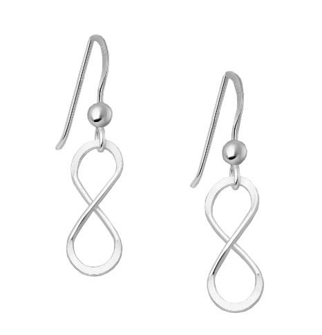 Infinity Symbol Earrings - 925 Silver - Gifti | Gifts they will love