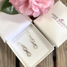 Load image into Gallery viewer, Infinity Symbol Earrings - 925 Silver - Gifti | Gifts they will love