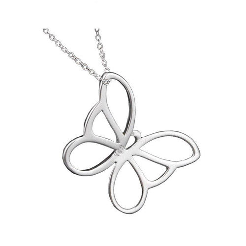 Butterfly Pendant & Necklace - 925 Silver - Gifti | Gifts they will love