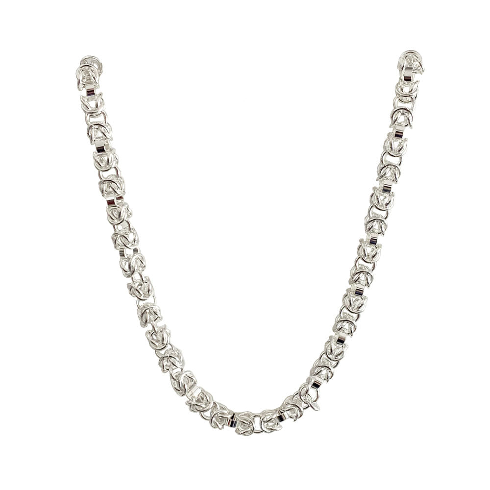 Silver Spigot Chain Necklace - Gifti | Gifts they will love