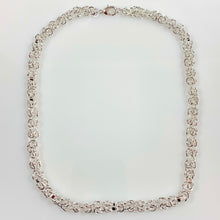 Load image into Gallery viewer, Silver Spigot Chain Necklace - Gifti | Gifts they will love