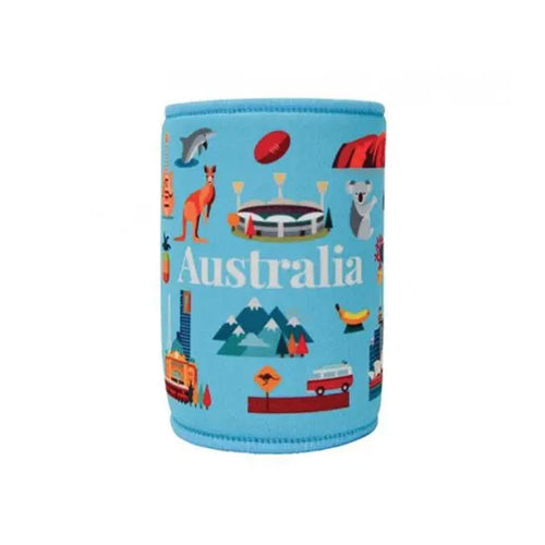 Australian Icons Stubby Holder - Gifti | Gifts they will love