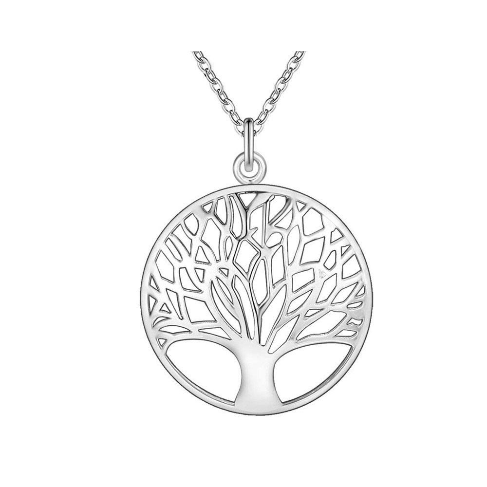 Tree of Life Pendant & Necklace - Silver - Gifti | Gifts they will love