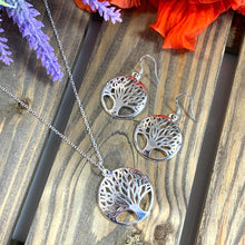 Load image into Gallery viewer, Tree of Life Pendant & Necklace - Silver - Gifti | Gifts they will love