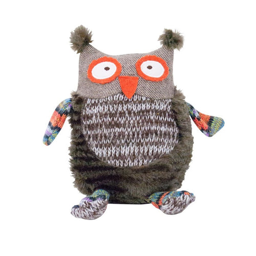 Winter Brown Owl Pillow Pals – Large - Gifti | Gifts they will love