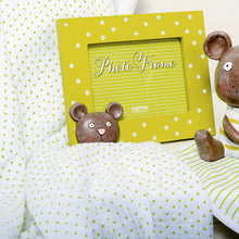Load image into Gallery viewer, Muslin Baby Wrap Gift Box - Teddy (Green) - Gifti | Gifts they will love